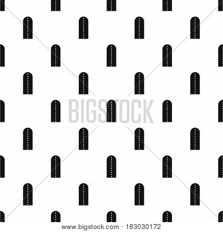 Long way pattern seamless in simple style vector illustration