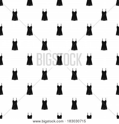 Nightdress pattern seamless in simple style vector illustration