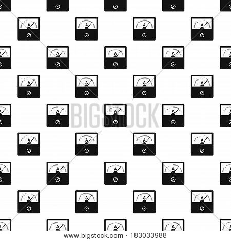 Counter pattern seamless in simple style vector illustration
