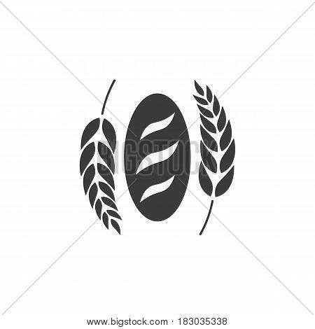 Bakery Shop Emblem, Labels, Logo And Design Elements. Fresh Bread Loaf. Vector Illustration.