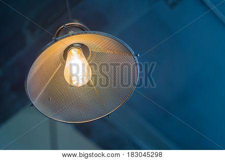 Vintage light bulb bar decor the home or shop design modern hanging