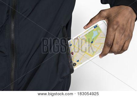 Travel Navigation Tech Trip Word