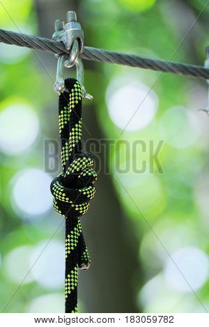 String With A Knot