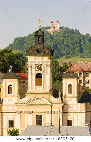 Church of St. Mary, Banska Stiavnica, Slovakia