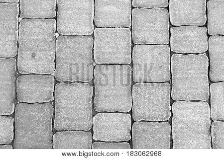 Stone background from crushed limestone decoration, limestone