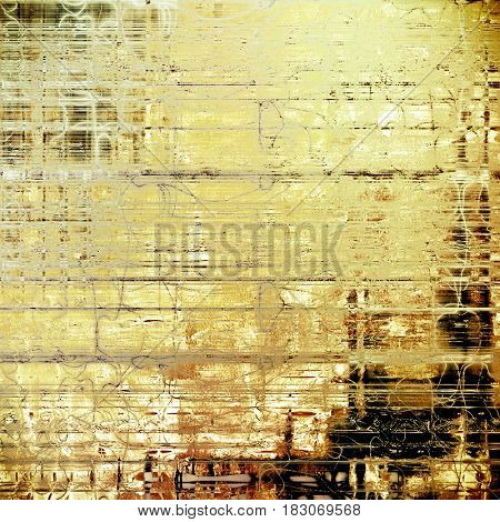 Vintage background texture, antique style composition for your design. With different color patterns: yellow (beige); brown; gray; black; white