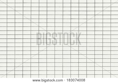 White tile texture clean condition with geometric line for background.