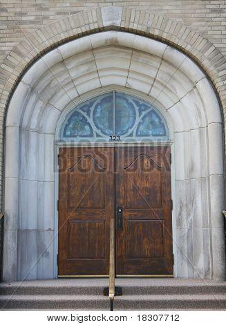 Fancy Church Doors