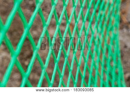 Green Mesh Netting