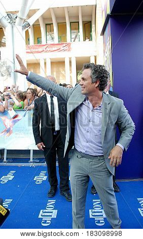 Giffoni Valle Piana Sa Italy - July 18 2015 : Mark Ruffalo at Giffoni Film Festival 2015 - on July 18 2015 in Giffoni Valle Piana Italy