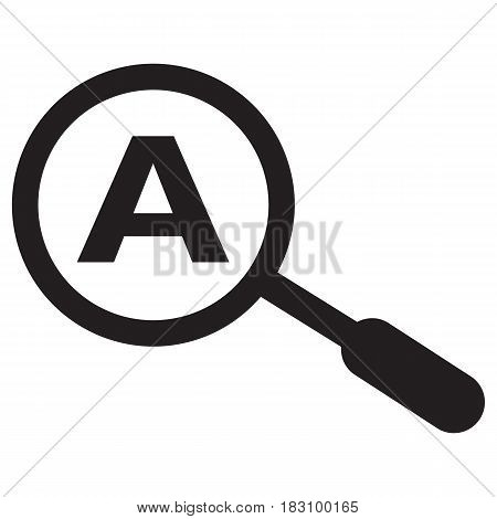 keyword search icon Dictionary Alphabet Looking Library Searching