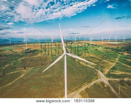 Wind Turbine, Wind Energy Concept.