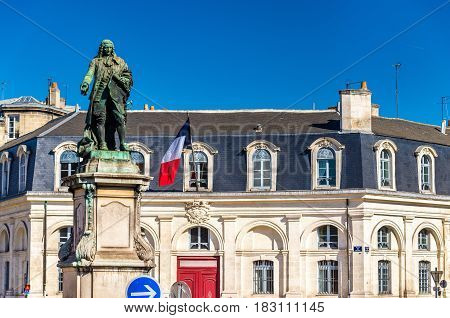 Statue of Marquis de Tourny on Tourny Square - Bordeaux, France