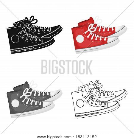 icon in cartoon design isolated on white background. Hipster style symbol stock vector illustration.