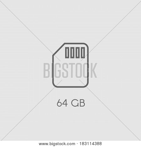 Memory Sd Card Icon