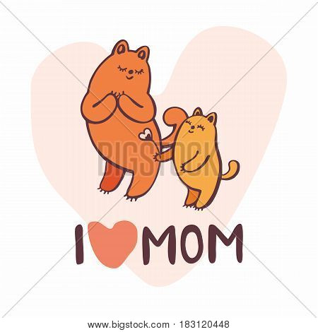 Mothers Day Greeting Card.eps