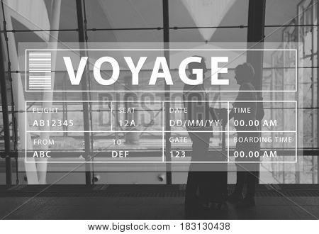 Journey Trip Voyage Departure Table