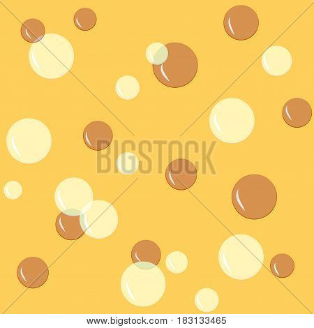 Bubble color seamless pattern. Fashion graphic background design. Modern stylish abstract texture. Colorful template for prints textiles wrapping wallpaper website etc. Vector illustration