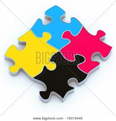 CMYK-puzzle