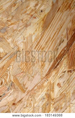 Wood Grain Stripes In Abstract Flakeboard Background