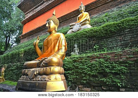 Buddha in every corner, buddha in every place. A pilgrim or visitor, a tourist or ordinary person can see the Buddha statue and worship him