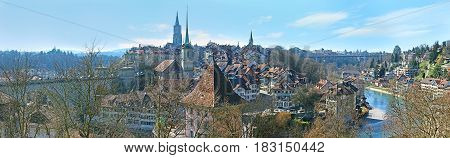 The Cityscape Of Bern