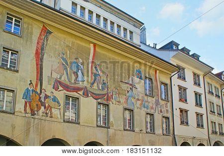 The Fresco On The Facade