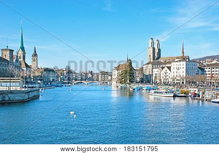 The City On Limmat River