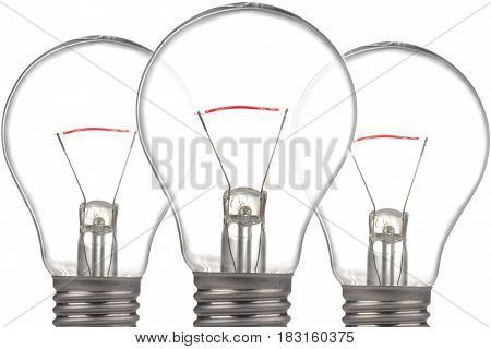 A bulb isolated on a white background