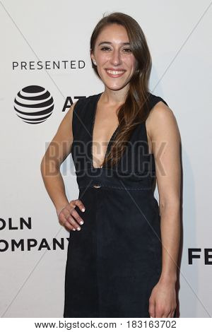 NEW YORK-APR 22: Producer Alexandra Rizk Keane attends the 'Literally, Right Before Aaron' screening at SVA Theatre during the 2017 TriBeCa Film Festival on April 22, 2017 in New York City.