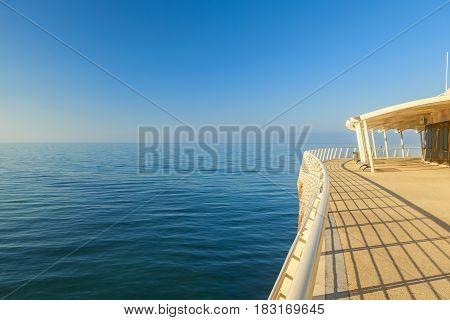 Lido Di Camaiore Pier View