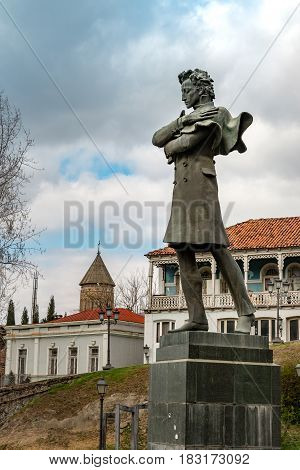 TBILISI, GEORGIA - APRIL 04, 2017: Prince Nikoloz