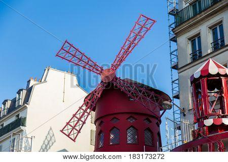 Beautiful Paris, Moulin Rouge, France