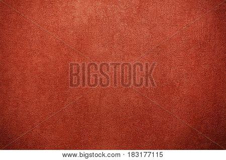 Very textured horizontal dark red paper background