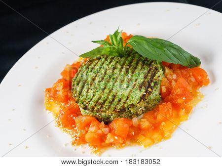 broccoli cutlet