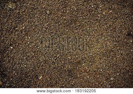 Soil, soil background, soil texture, brown soil. Earth, earth background, ground texture. Grunge. Grunge background.