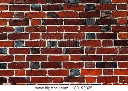 The old grunge brick wall texture for background