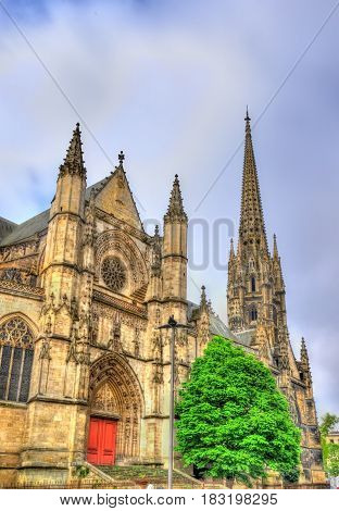 Saint Michel basilica in Bordeaux - France, Aquitaine