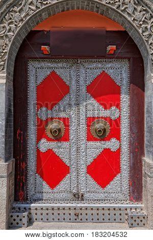 Red Iron Door In China