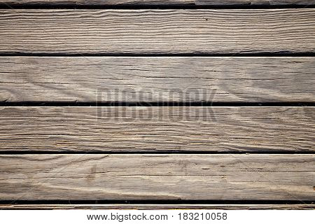 Close Up Of Old Brown Wooden Background