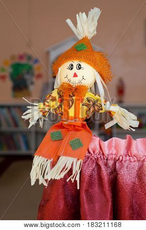 Rag doll for a child handmade, folk art