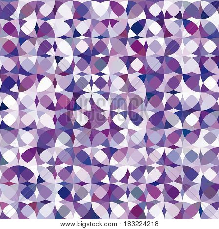 Retro violet circle pattern, vector cool illustration