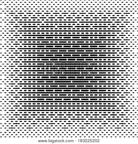 Halftone lined background. Halftone effect vector pattern.Different lines isolated on the white background.