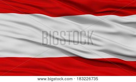 Closeup Tahiti Flag, Waving in the Wind, High Resolution