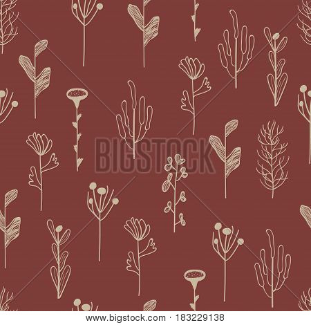 Floral seamless pattern.Can be used for wallpaper, pattern fills, web page background, surface textures.