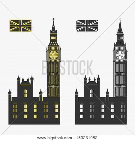 Big Ben London Vector Illustration eps 8 file format