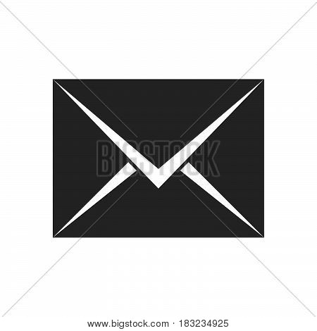 envelope Icon Vector isolated on white .