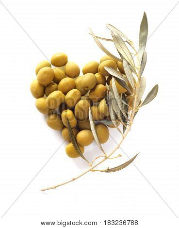 Olives In Heart Shape