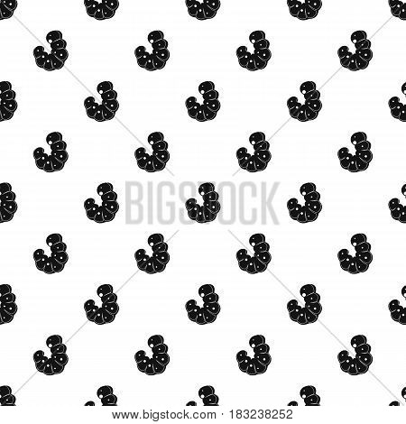 Worm pattern seamless in simple style vector illustration