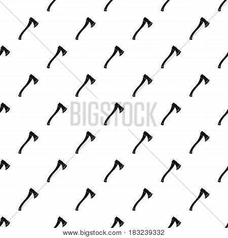 Axe In blood pattern seamless in simple style vector illustration